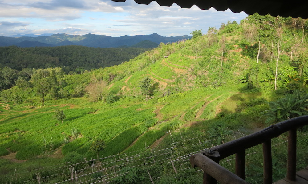 Huay Khao Lip view from the homestay