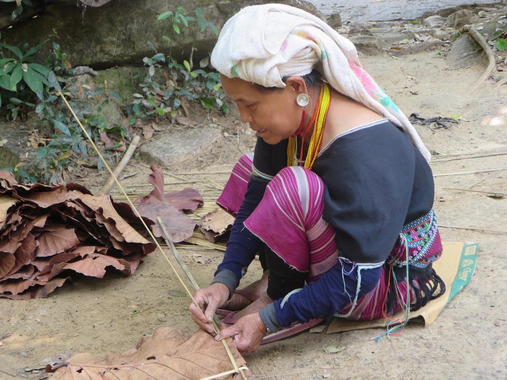 woman in tribal dress