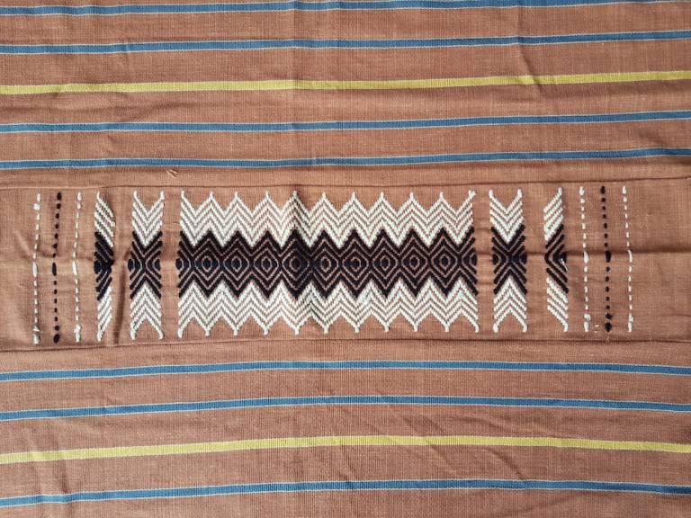 Piece of Lawa textiles