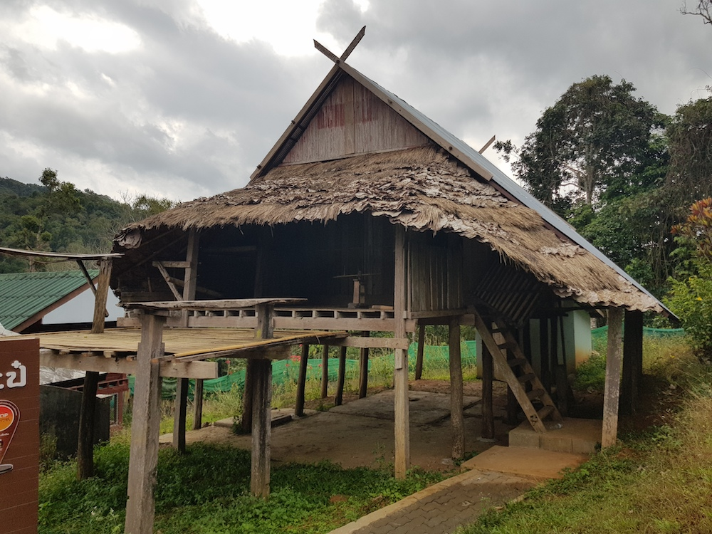 Traditional Lawa house in Ban Pa Pae