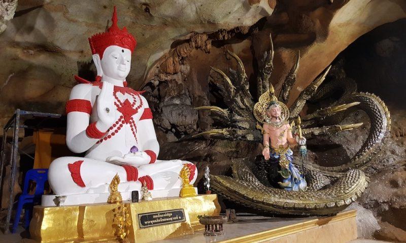 Buddha Statue at Chiang Dao Cave