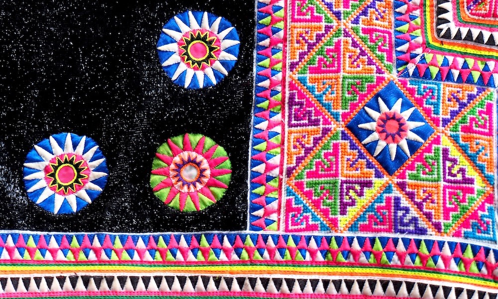 Hmong textiles Ban Mae Sa Mai