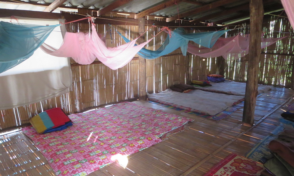 Matresses with mosquito nets