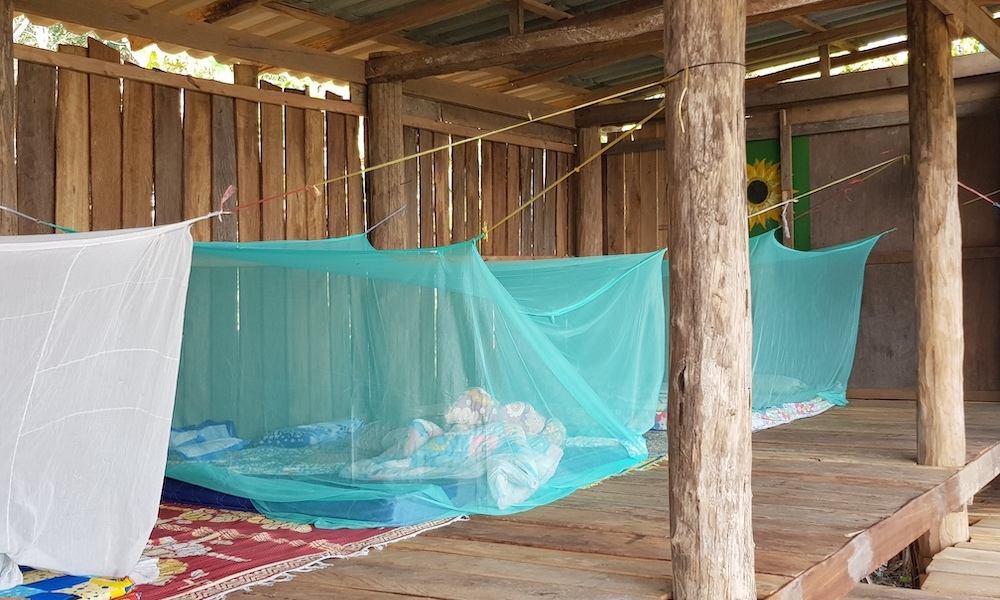 Wat House sleeping place Huay Khao Lip