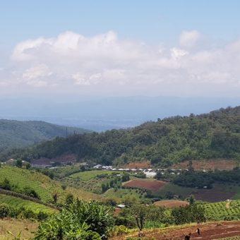 View from Ban Mae Sa Mai over Mae Rim