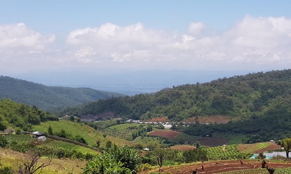 View from Ban Mae Sa Mai over Mae Rim Hmong Experience