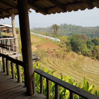 homestay Nongjao House view Huay Khao Lip