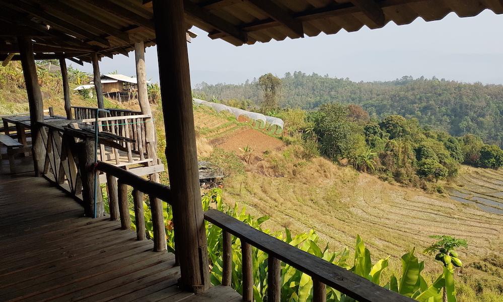 homestay Nongjao House view Huay Khao Lip