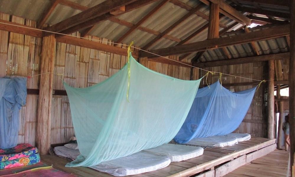 Sleeping place Huay Khao Lip Green Trails trekking