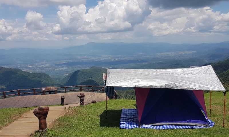 Mountain camping Doi Angkhang