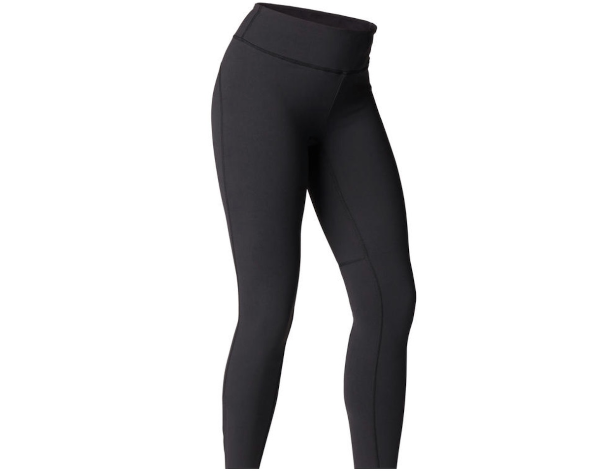 Black leggings female