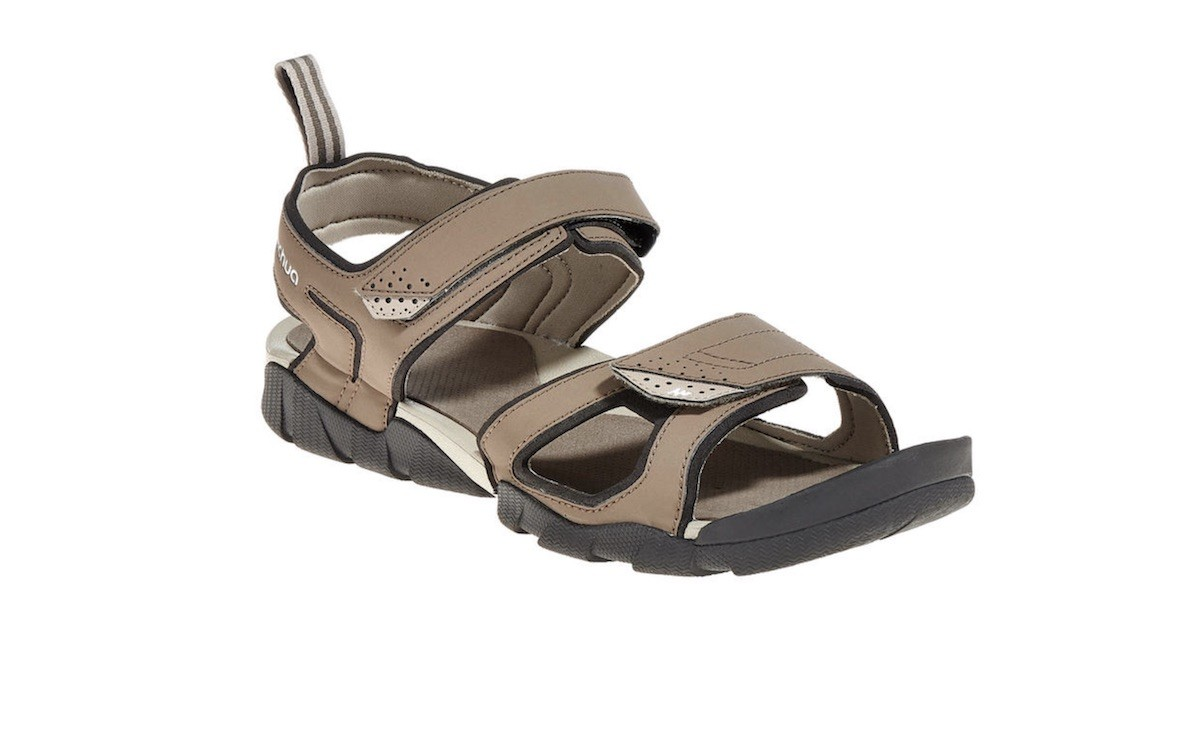 Sandals with straps. Trekking shoes.