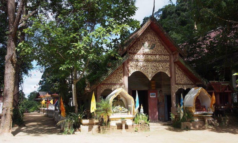 Rural Buddhist temple