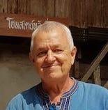 old man in a village