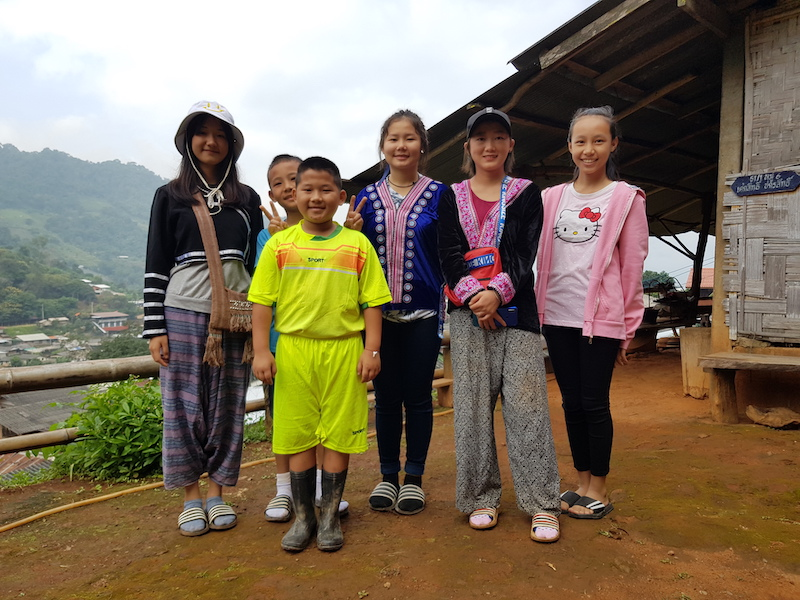 Group of young people in traditional dress