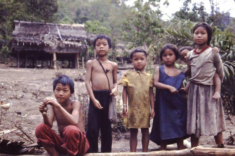 Five children in village