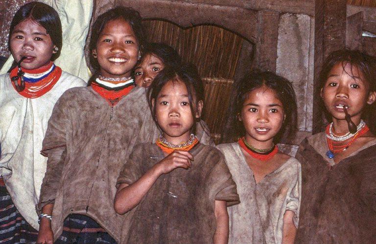 Hill tribe children